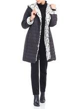 Novelti Polyfill Faux Fur Coat, Black, hi-res