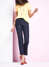 Welt Pocket Straight Leg Pants, , hi-res