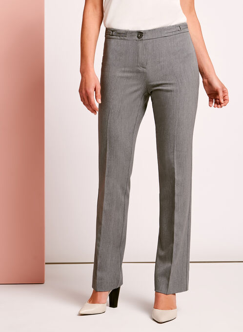 Modern Fit Straight Leg Pant, Grey, hi-res