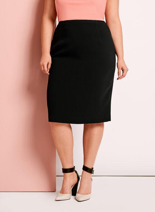 Louben - Pencil Skirt, Black, hi-res