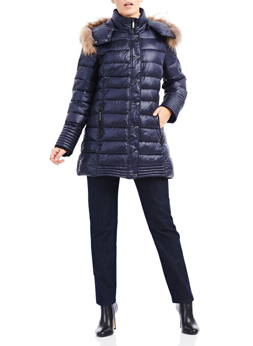 Marcona Primaloft® Fur Jacket, Blue, hi-res