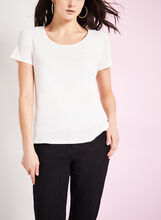 Scoop Neck Knit Top , , hi-res