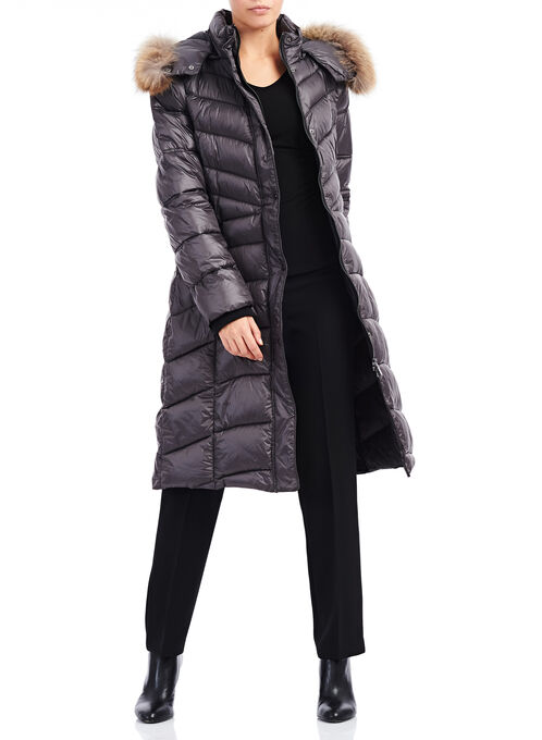 Marcona Primaloft® Fur Coat , Grey, hi-res