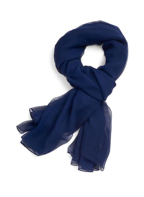 Solid Sheer Wrap, Blue, hi-res
