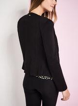 Vex Zipper Trim Jacket , Black, hi-res
