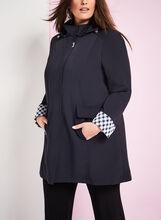 Novelti Detatchable Hood Coat, Blue, hi-res