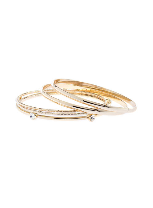 Set of Bangles, Gold, hi-res