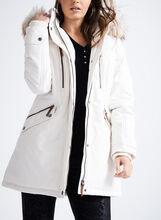 Novelti Polyfill Faux Fur Coat , Off White, hi-res