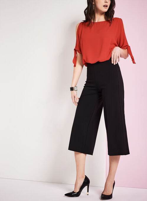 PDR Culotte Pants, Black, hi-res