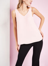 Sleeveless Criss Cross Blouse, , hi-res
