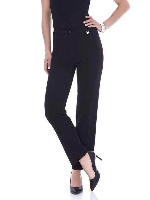 Reese Pocket Straight Leg Pant , Black, hi-res