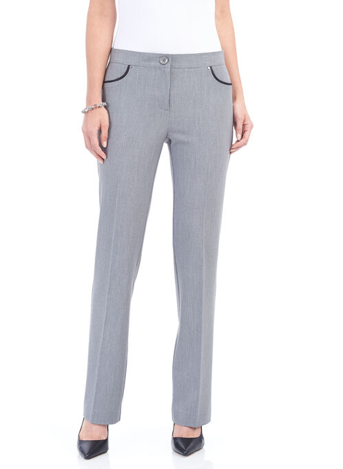 City Fit Straight Leg Pant, Grey, hi-res