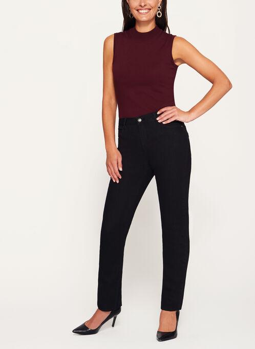 Simon Chang - Signature Fit Embellished Jeans, Black, hi-res