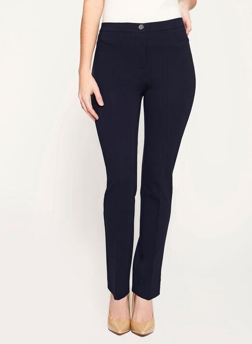 Signature Fit Straight Leg Pants, Blue, hi-res