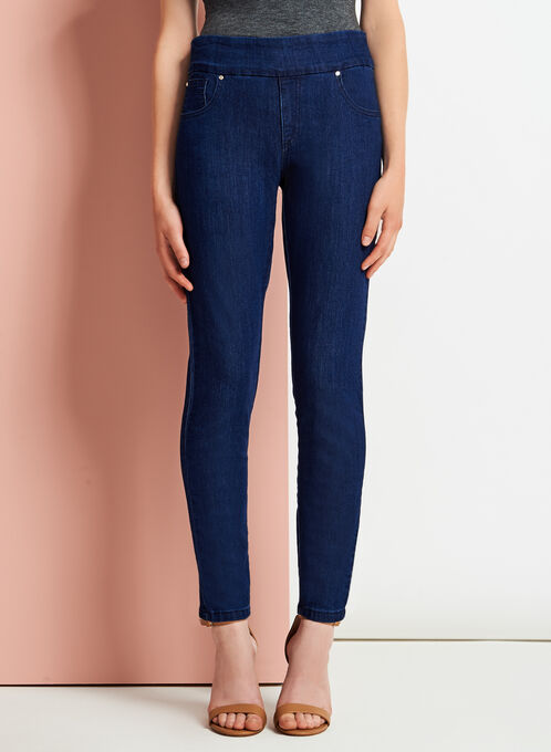 Simon Chang - Contemporary Fit Slim Leg Jeans, Blue, hi-res