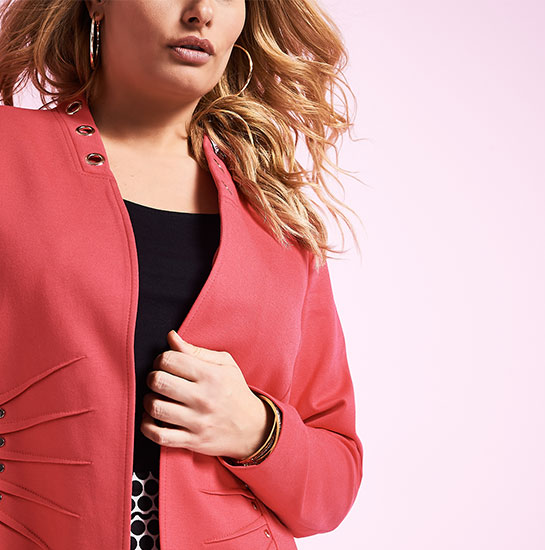 Shop Laura Plus Jackets
