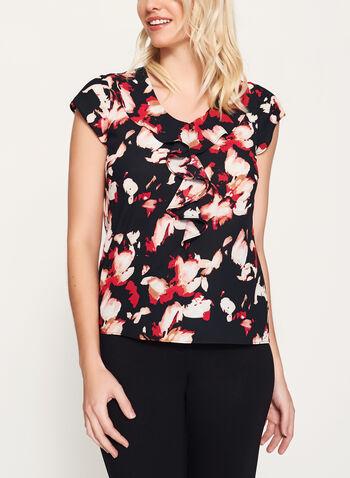 Chiffon Floral Print Blouse, , hi-res