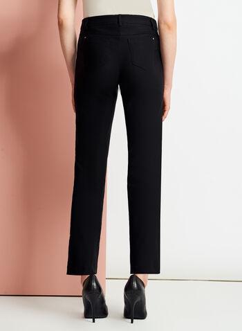 Pantalon 7/8 coupe moderne à jambe droite , , hi-res