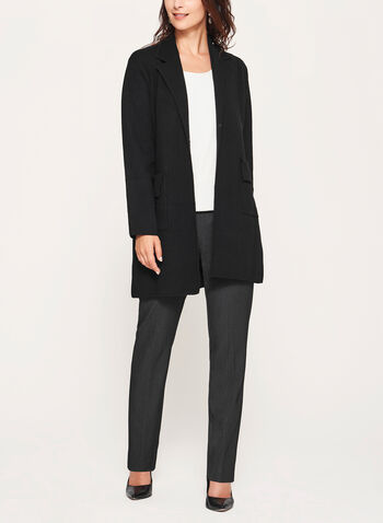 Ness - Notch Collar Cardigan, , hi-res