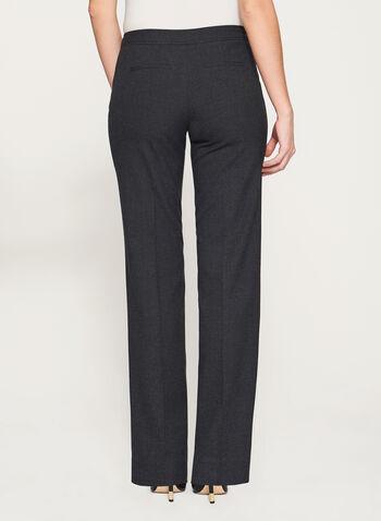 Pantalon à jambe large et imitation laine, , hi-res