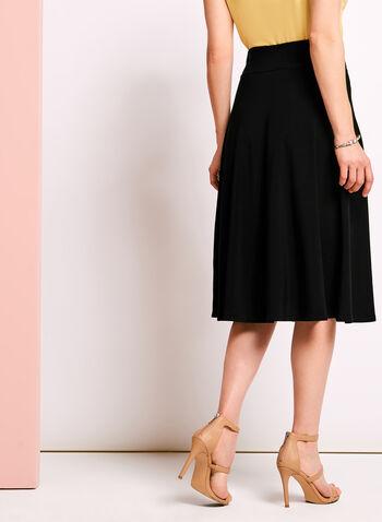 Jersey A-line Skirt, , hi-res