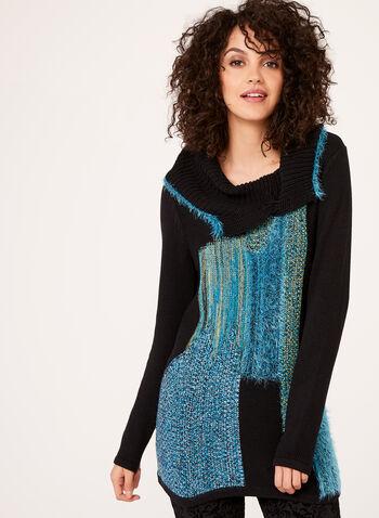 Pull col roulé à plusieurs tricots, , hi-res