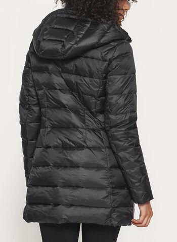 Manteau matelassé avec capuchon amovible, , hi-res