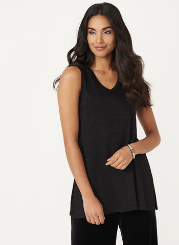 Sleeveless Knit Tunic, , hi-res