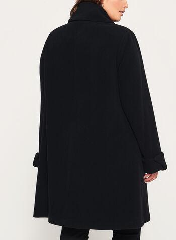 Cashmere Blend A-Line Coat, , hi-res