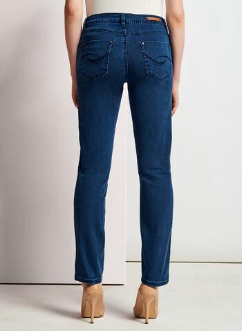 Simon Chang - Signature Fit Slim Leg Jeans, , hi-res