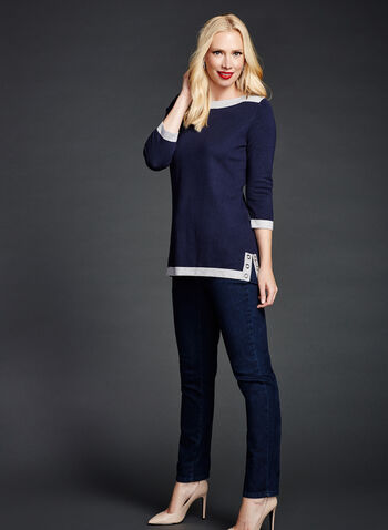 Modern Fit Straight Leg Jeans, , hi-res