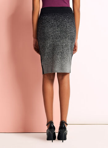 Jersey Knit Pencil Skirt, , hi-res