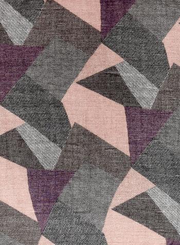 Patchwork Print Scarf, , hi-res