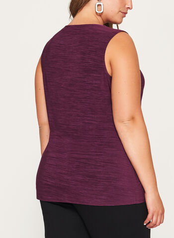 Heather Print Jersey Top , , hi-res
