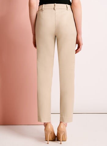 Sateen Grommet Trim 7/8 Pants, , hi-res
