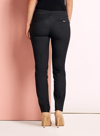 Pantalon à jambe droite coupe cité, , hi-res