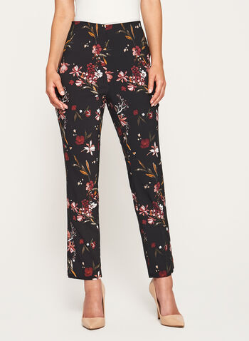 Jules & Leopold - Floral Print Pull-On Pants, , hi-res