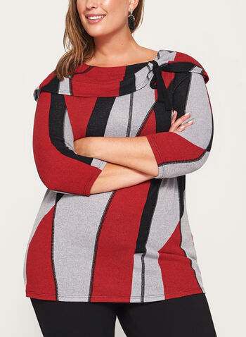 Marilyn Neck Sweater, , hi-res
