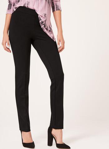 Signature Fit Pull-On Slim Leg Pants, , hi-res