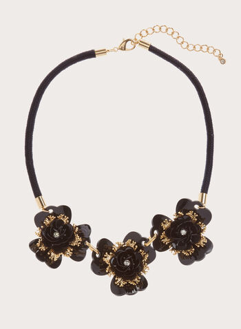Floral Collar Necklace , , hi-res
