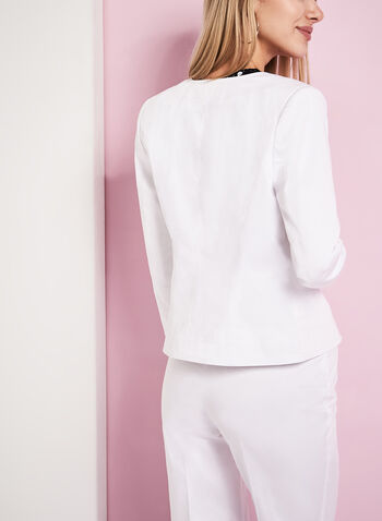Studded Sateen Jacket, , hi-res