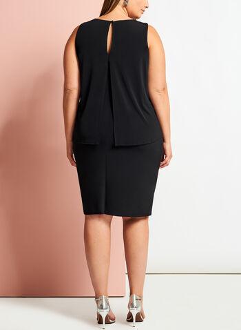 Studded Popover Sheath Dress, , hi-res