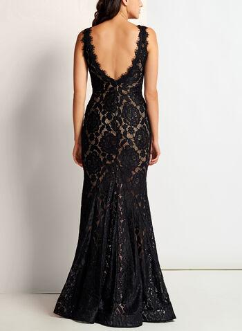 Scallop Lace Mermaid Dress, , hi-res