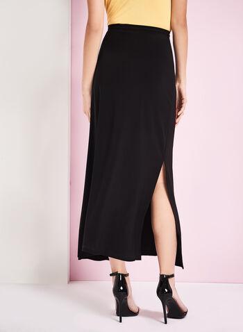 Side Slit Detail Maxi Skirt, , hi-res