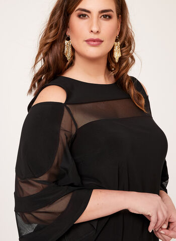 Frank Lyman - Bell Sleeve Cold Shoulder Blouse, , hi-res