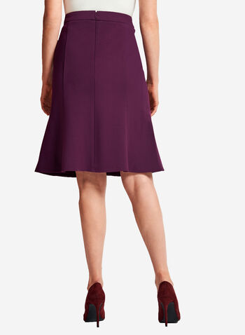 Ponte Gored A-Line Skirt , , hi-res