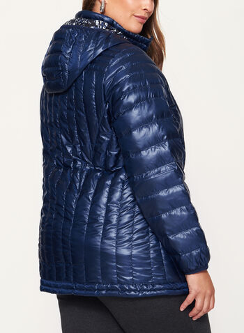 Nuage - Quilted Nylon Down Coat, , hi-res
