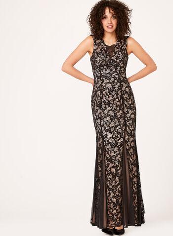 Lace Mermaid Dress, , hi-res