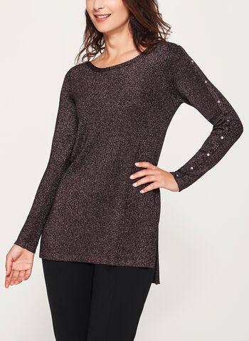 Lurex Knit Tunic, , hi-res