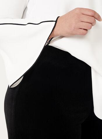Wide Leg Velvet Pants, , hi-res